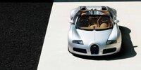 2008 Bugatti Grand Sport Restaurierung Außenansicht