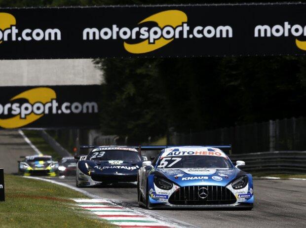 Philip Ellis im Mercedes-AMG GT3beim Rennen der DTM 2021 in Monza