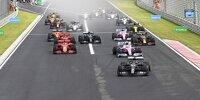 Start zum Ungarn-Grand-Prix 2020 in Budapest
