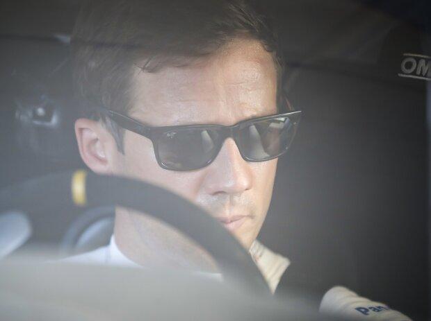 Sebastien Ogier am Steuer des Toyota Yaris WRC
