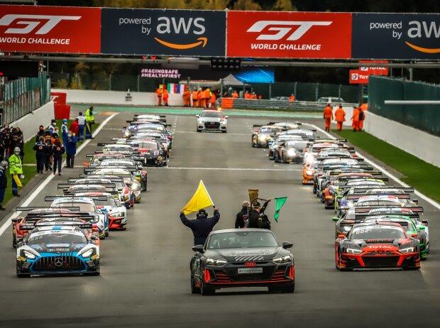 24h Spa 2020, Startaufstellung, Pace-Car
