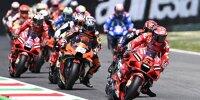 MotoGP-Action beim GP Italien 2021 in Mugello