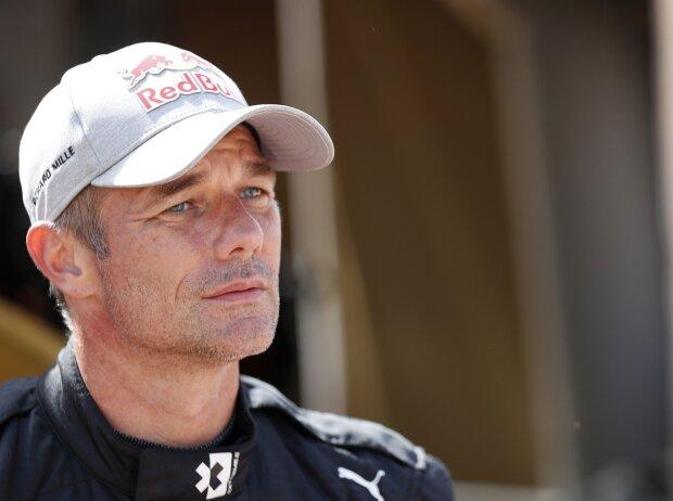 Sebastien Loeb im Fahrerlager der Extreme E