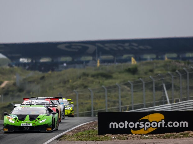 Lamborghini Huracan GT3 beim Rennen des ADAC GT Masters in Zandvoort