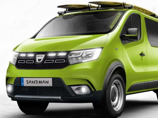 Dacia Sandman Rendering