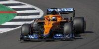 Daniel Ricciardo (McLaren) beim Großen Preis von Großbritannien 2021 in Silverstone