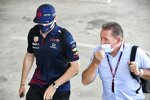 Max Verstappen (Red Bull) und Jos Verstappen