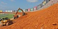 Umbau des Atlanta Motor Speedway für 2022