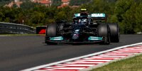 Valtteri Bottas (Mercedes) im ersten Freien Training zum Grand Prix von Ungarn auf dem Hungaroring bei Budapest