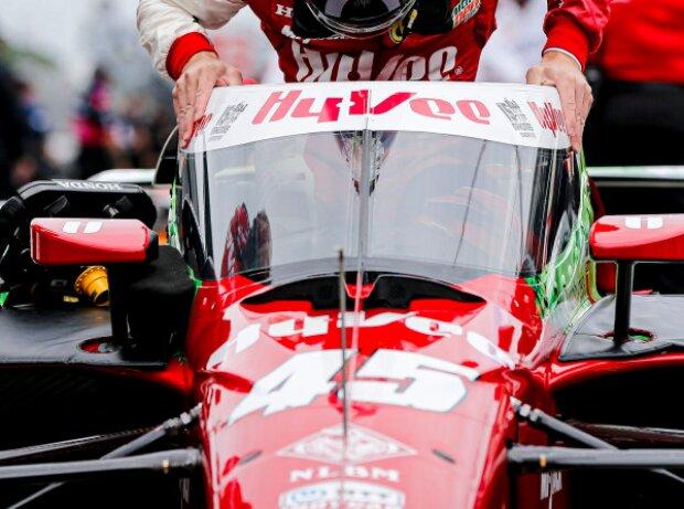 Startnummer 45 von Rahal Letterman Lanigan Racing