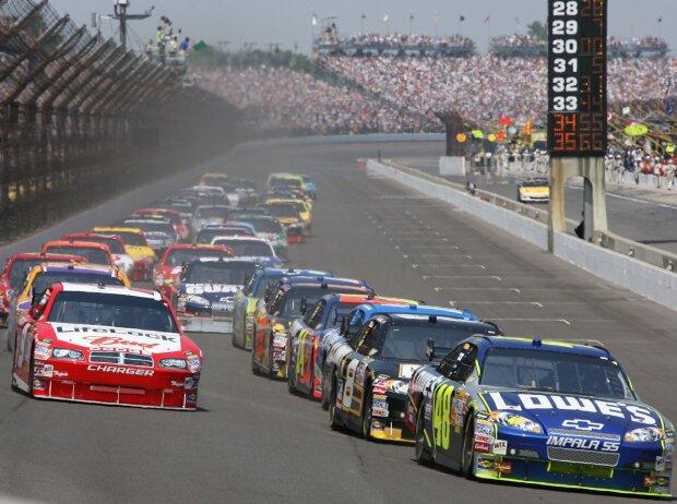 Start zum Brickyard 400 der NASCAR-Saison 2008 in Indianapolis