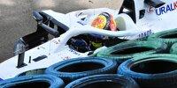 Unfall von Mick Schumacher (Haas) im dritten Freien Training zum Grand Prix von Ungarn 2021 auf dem Hungaroring bei Budapest