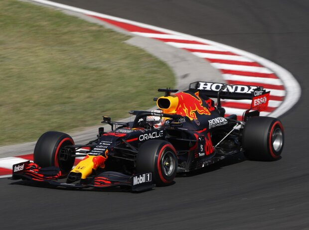 Max Verstappen (Red Bull) im Qualifying zum Formel-1-Rennen am Hungaroring in Budapest