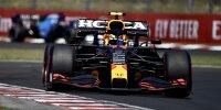 Sergio Perez (Red Bull) im Qualifying zum Formel-1-Rennen in Budapest