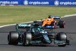 Lance Stroll (Aston Martin) und Daniel Ricciardo (McLaren)