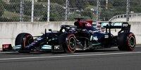 Lewis Hamilton (Mercedes) im Qualifying zum Formel-1-Rennen in Ungarn