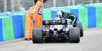 Valtteri Bottas nach dem Startunfall in Ungarn