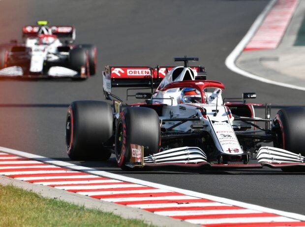 Kimi Räikkönen, Antonio Giovinazzi