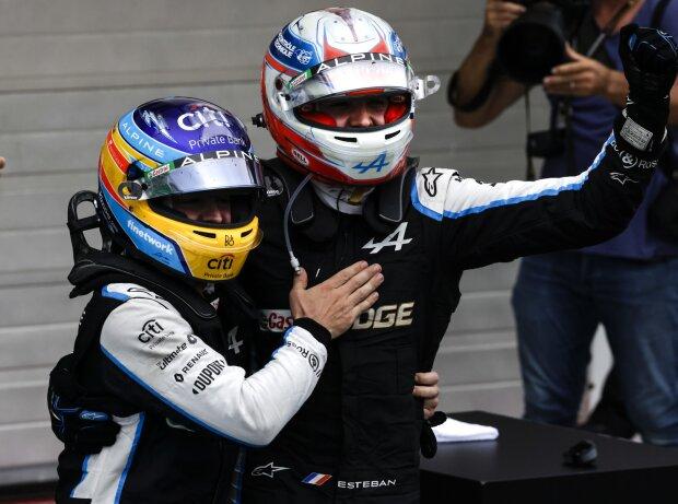 Fernando Alonso, Esteban Ocon