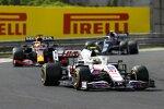 Mick Schumacher (Haas), Max Verstappen (Red Bull) und Pierre Gasly (AlphaTauri)