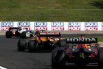 Pierre Gasly (AlphaTauri), Daniel Ricciardo (McLaren) und Max Verstappen (Red Bull)