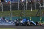 Fernando Alonso (Alpine) und Lewis Hamilton (Mercedes)