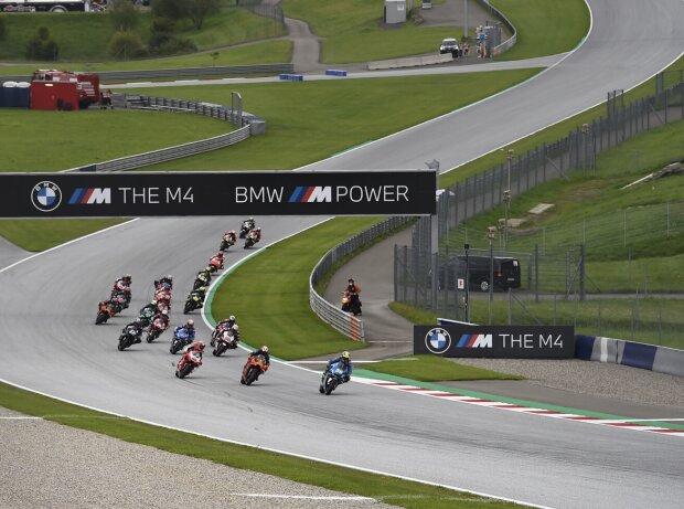 Renn-Action beim GP Steiermark 2020 auf dem Red-Bull-Ring in Spielberg