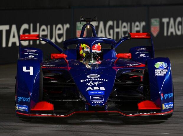 Robin Frijns beim Rennen der Formel E 2021 in London
