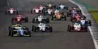 Start der Britischen Formel-3-Meisterschaft 2020 in Silverstone