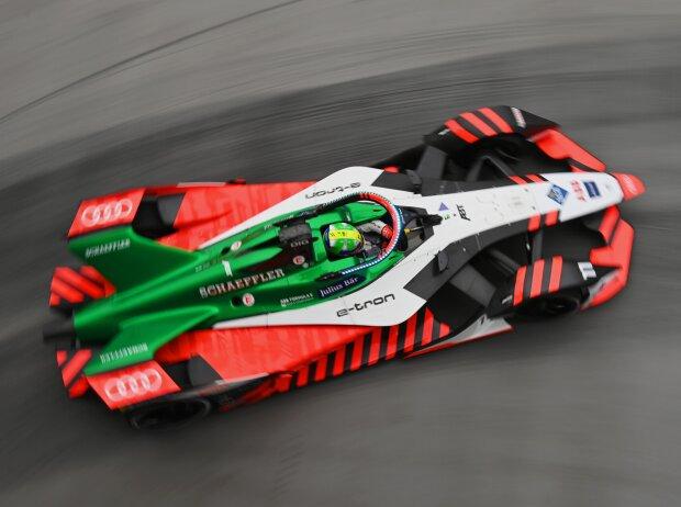 Lucas di Grassi beim Rennen der Formel E in London 2021