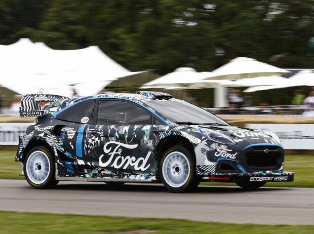 Ford Puma WRC beim Goodwood Festival of Speed 2021