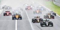 Start zum Grand Prix von Ungarn der Formel 1 2021 auf dem Hungaroring bei Budapest