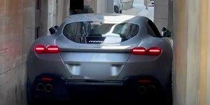 Ferrari Roma: News, Gerüchte, Tests