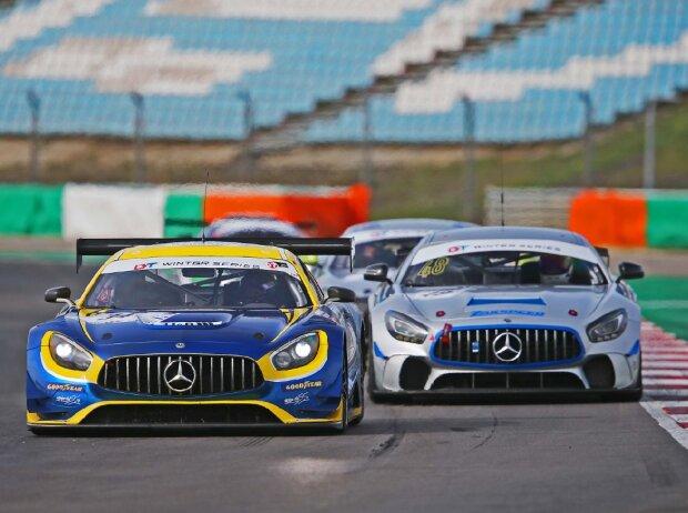 Fahrzeuge bei einem Testtag von Gedlich Racing
