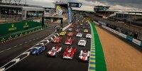 Gruppenfoto: Alle Autos für die 24h Le Mans 2021
