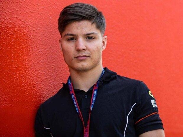 Formel-2-Pilot Lirim Zendeli