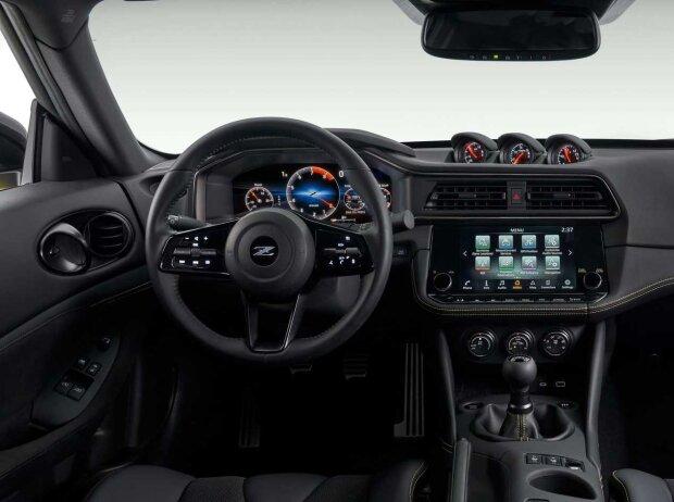 Blick ins Cockpit des Nissan Z