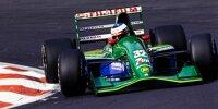 Michael Schumacher im Jordan 191 beim Grand Prix von Belgien 1991