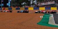 Dreher von Sebastien Buemi beim Start der 24h Le Mans 2021 nach Kollision mit Olivier Pla