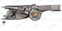 Ferrari-Getriebe 2021 am SF21 in der Formel 1