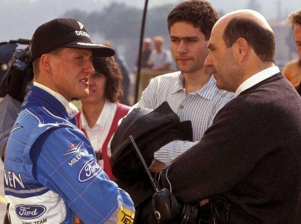 Peter Sauber mit Michael Schumacher 1994