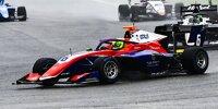 David Schumacher beim ersten Sprintrennen der Formel 3 2021 in Spa-Francorchamps