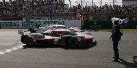 Zieldurchfahrt der Toyota beim 24-Stunden-Rennen von Le Mans 2021