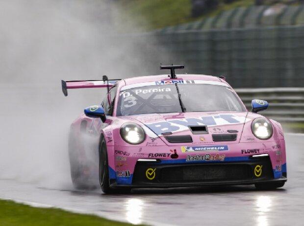 Dylan Pereira bij de Porsche Supercup in Spa 2021