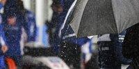 Regen in Spa-Francorchamps