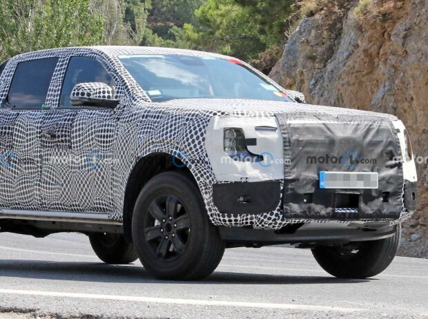 Ford Ranger 2022 neue Erlkönigbilder
