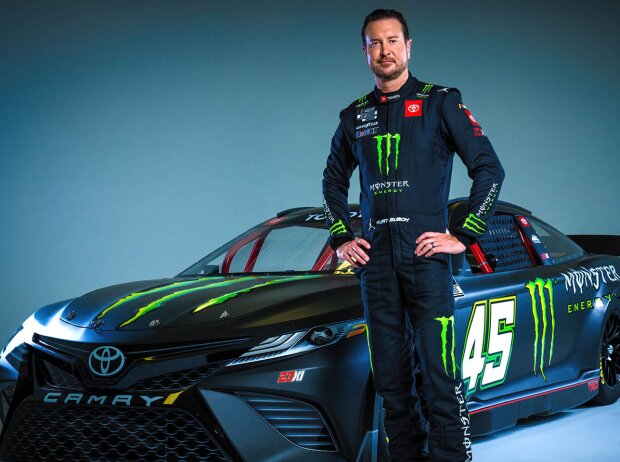 Kurt Busch mit dem #45 23XI-Toyota für die NASCAR Cup-Saison 2022