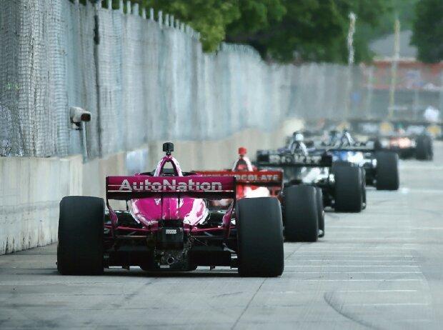 Renn-Action in der IndyCar-Saison 2021