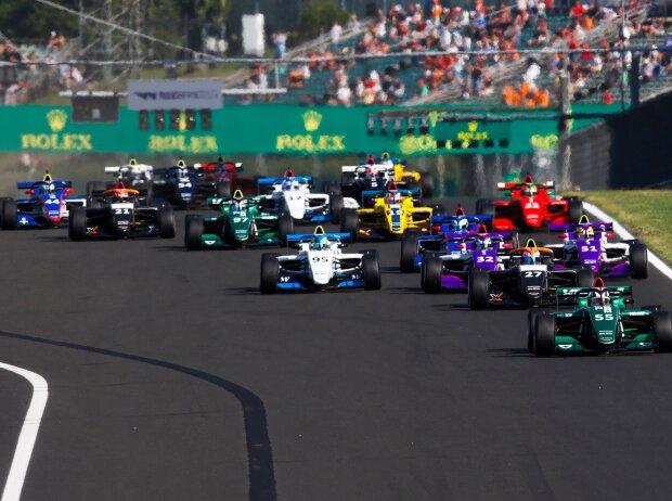 Start der W-Serie 2021 auf dem Hungaroring bei Budapest