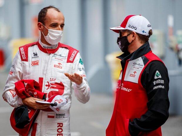Robert Kubica und Kimi Räikkönen